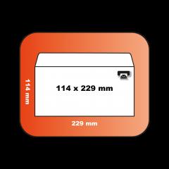 Enveloppe DLA 114 x 229 mm